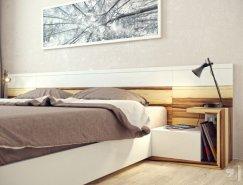 16个现代卧室设计欣赏