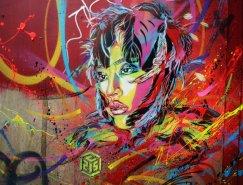 C215倫敦街頭涂鴉藝術作品
