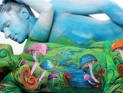 Gesine Marwedel令人惊叹的人体彩绘艺术