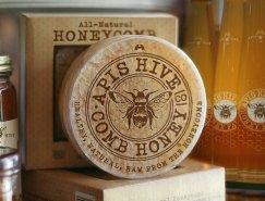 品牌设计欣赏:Apis Hive Honey蜂蜜