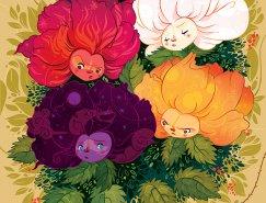 哥倫比亞Lorena Alvarez Gómez圖書插圖設計