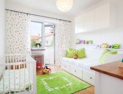 20个漂亮的儿童房装修设计