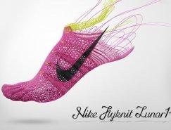 Nike Flyknit Lunar 1運動鞋品牌推廣設計