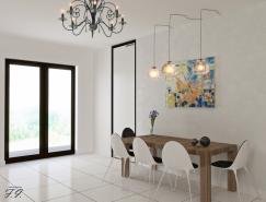 家装设计:现代简约风格餐厅装修