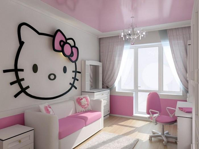 100个现代女孩房间装修设计(4)