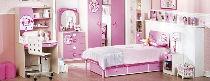 15款公主房卧室装修效果图大全2013图片欣赏