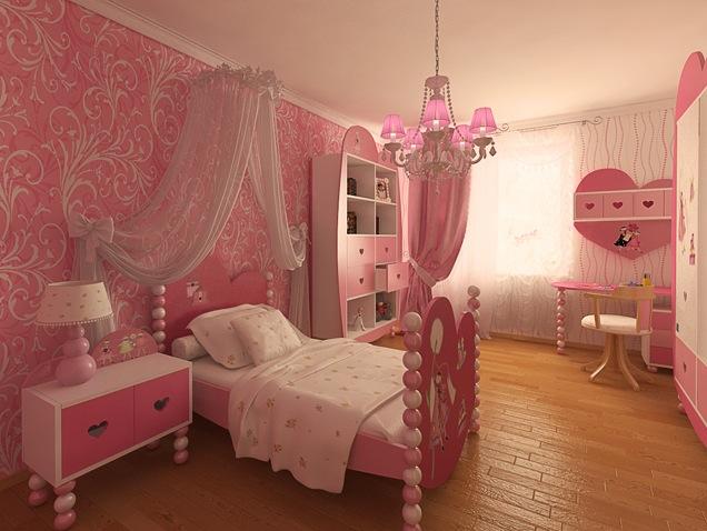 100个现代女孩房间装修设计(5)