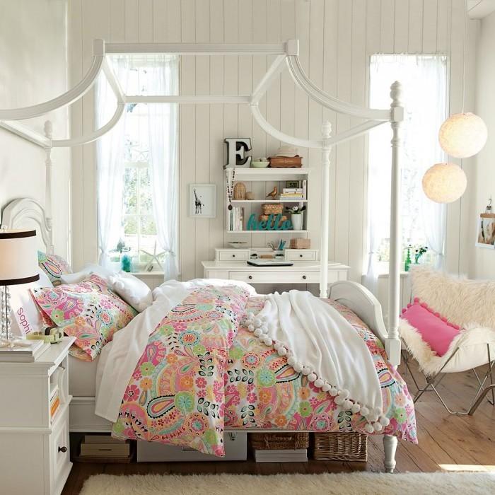 90平米北欧小清新卧室装修效果图大全2012图