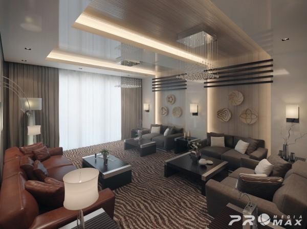 埃及设计师Mahmoud Keshta:现代公寓装修设计