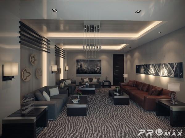 埃及设计师mahmoud Keshta:现代公寓装修设计 设计之家