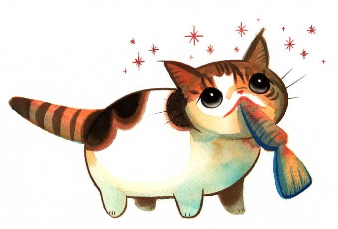 dreistadt可爱动物插画(3)