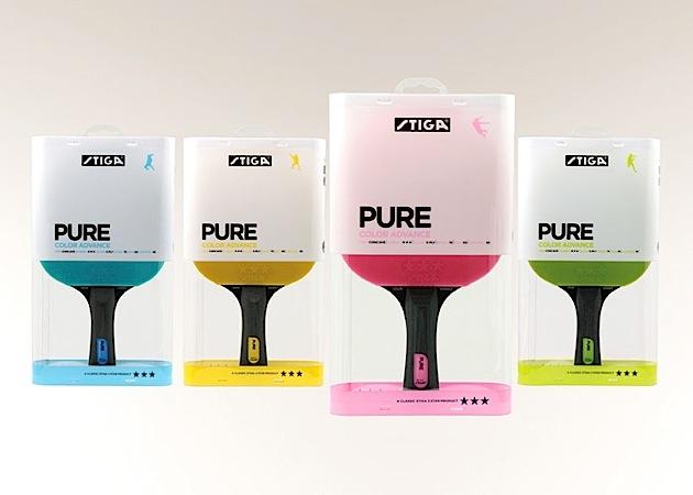 Stiga乒乓球拍包装设计
