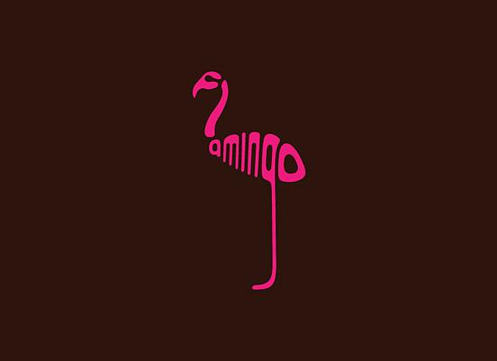 fleming形象可爱的动物标志设计