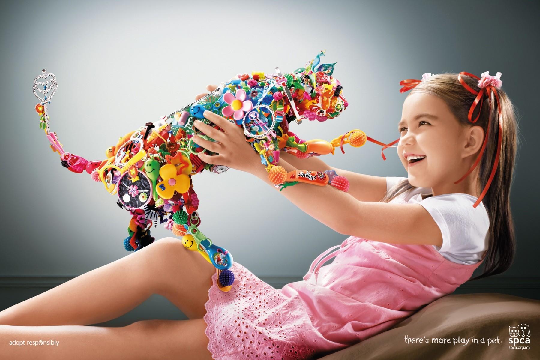 广告欣赏:马来西亚爱护动物协会(spca)
