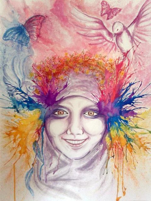 简单唯美的水彩笔画-70个漂亮的水彩绘画作品欣赏