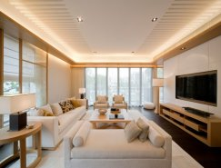 梁志天(Steve Leung)现代豪华的室内设计作品