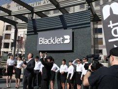 BlackJet航空公司品牌形象畅博官网手机app