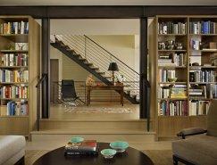 tudor建筑风格:华盛顿湖现代风尚的湖畔别墅
