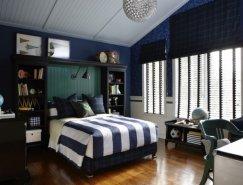 60个国外活泼的男孩房间设计
