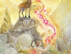 Stephanie Pui-Mun Law超现实主义绘画作品