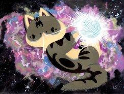 Becky Dreistadt可爱动物插画