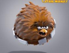 愤怒的小鸟星球大战角色设计