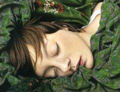 德国艺术家Moki超现实主义绘画作品