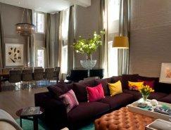 纽约Tribeca优雅温馨的公寓设计