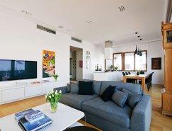 宁静柔和的自然色调:波兰现代住宅设计