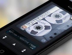 iphone手机app应用UI界面设计:Mixtape Music