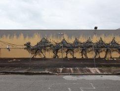 DALeast令人驚嘆的街頭藝術作品