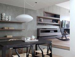 灵感来自日本风格:雅典简约住宅设计