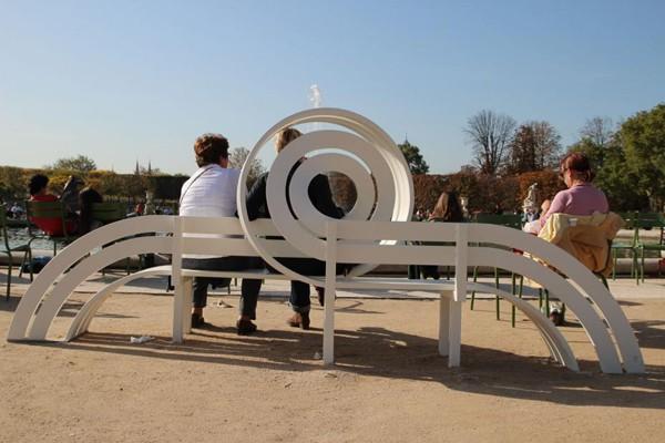 丹麦艺术家jeppe hein:公共长椅的另类设计(2) - 设计图片
