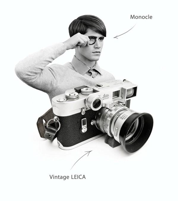 可侧面翻转的徕卡X3时尚概念相机