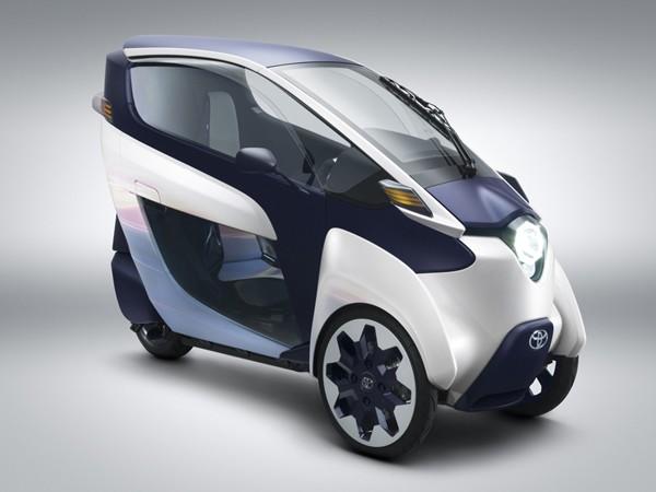 新一代代步工具:丰田i-road三轮纯电动概念车 - 设计