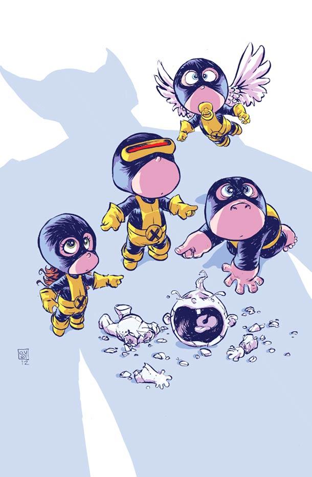 skottie young可爱的儿童超级英雄插画(2)