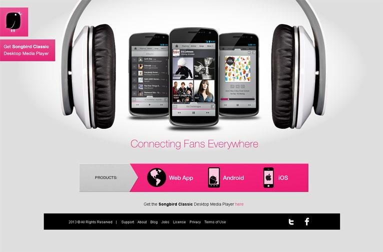 24个国外音乐相关网站设计欣赏(2)