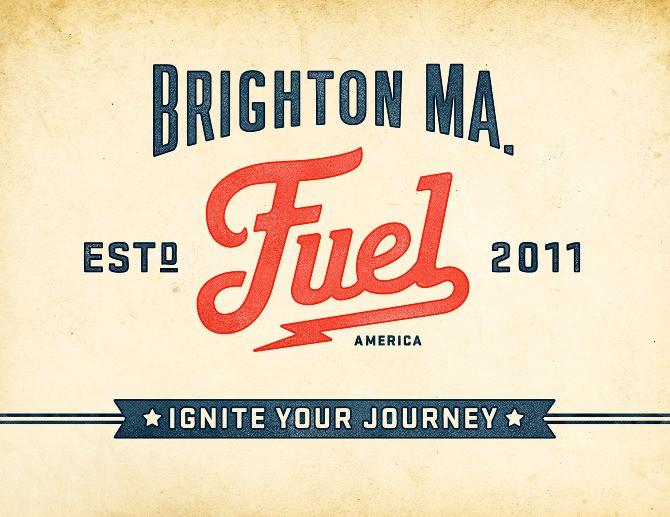品牌设计欣赏:Fuel咖啡店