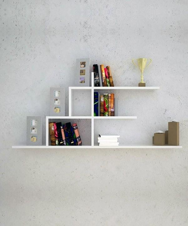 Home Design Ideas Book: Ɨ�尚现代和模块化的创意书架设计(2)