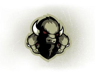 标志设计元素运用实例:野牛
