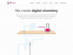 网页设计中白色的使用实例欣赏