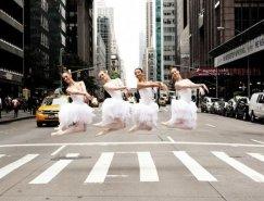 澳大利亚摄影牛郎店把个鸭子搞得像圣斗士似师Lisa Tomasetti:街头芭蕾