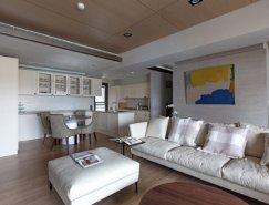 PMK+Designers:典雅简约的台湾公寓设计