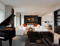 舒适温馨的多伦多Yorkville顶层公寓设计