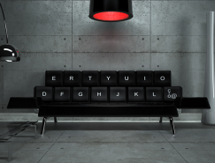 ZO_loft:QWERTY键盘沙发