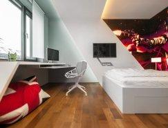 Rado Rick:斯洛伐克现代风格儿童卧室设计