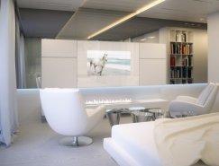 宁静柔和的色调:漂亮的白色公寓