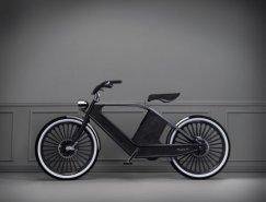 Cykno复古风格电动单车