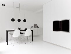 Norm Architects:哥本哈根纯白住宅皇冠新2网