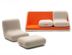 Matali Crasset:模块化沙发设计